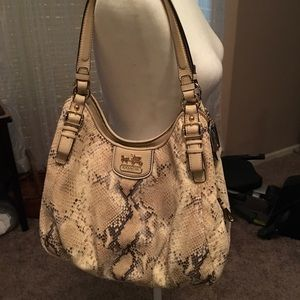 Rare snakeskin Coach Bag